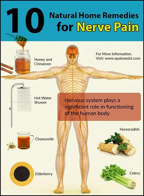 10 natural home remedies nerve pain